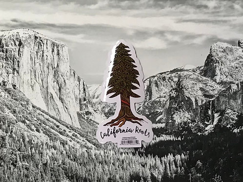 California Roots Sticker
