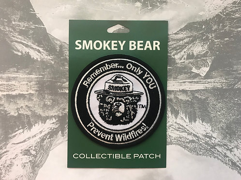 Smokey Bear Patch, only you Can Prevent Wildfires!