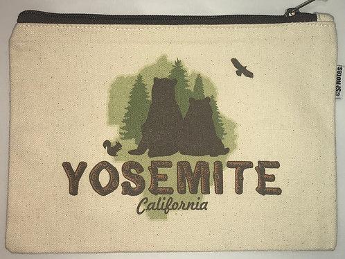 Yosemite Green Bears Pouch