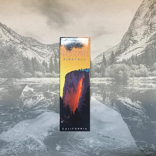 Yosemite HorseTail Falls Magnet