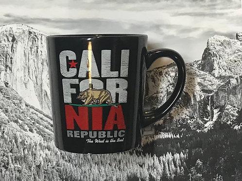 CALI FOR NIA Republic Large Mug