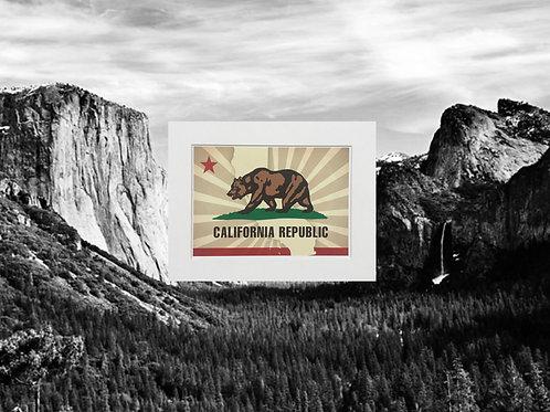 California Republic Print