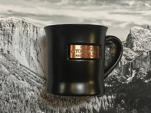 Est. 1890 Yosemite National Park Large Black Mug