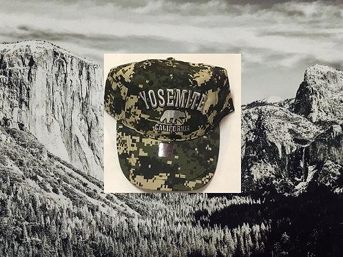 Yosemite Camo Baseball Cap