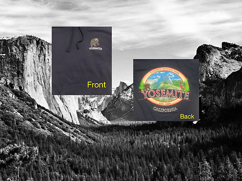 Pull Over Hoodie Half Dome in Color 2X