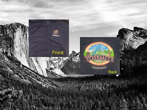 Zip Hoodie Half Dome In Color 3X
