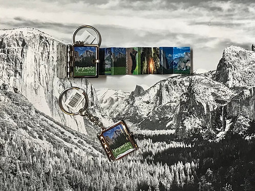 Yosemite Picture Booklet Keychain