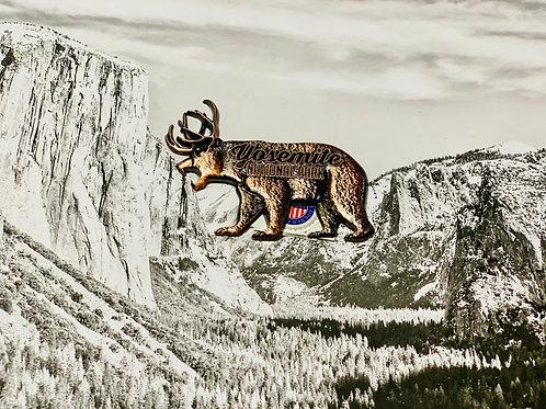 Bear Yosemite Copper Magnet