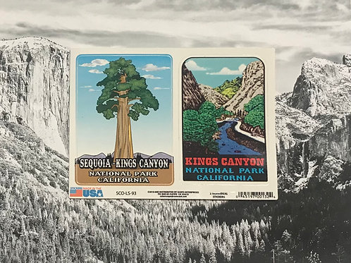 2 Sequoia-Kings Canyon Stickers