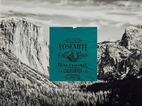 T-Shirt Yosemite Half Dome 2X