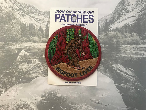 BigFoot Lives Patche