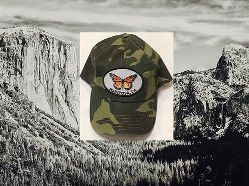 Mariposa CA Army Baseball Cap