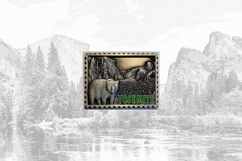 Metal Yosemite Magnet
