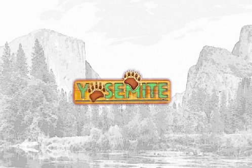 Acrylic Yosemite Magnet