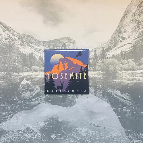Yosemite Half Dome Photo Magnet