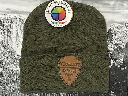 Yosemite Green Arrow Beanie