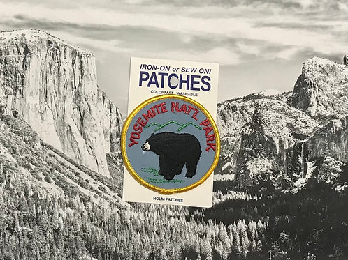 Yosemite Black Bear Patc