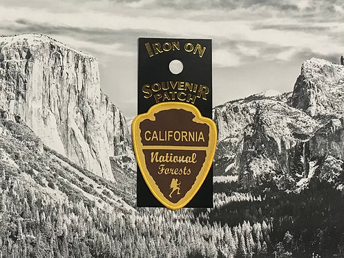 California National Forest Arrow Patch