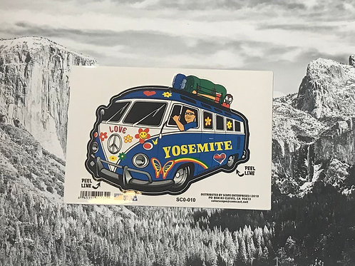 Yosemite Love Bug Sticker