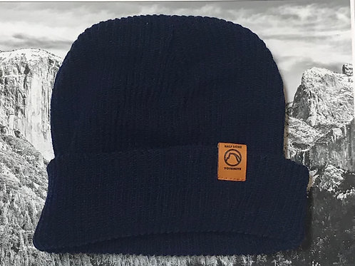 Yosemite Half Dome Navy Blue Beanie