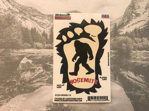 Bigfoot Yosemite Sticker