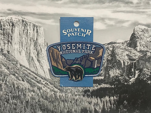Yosemite Valley with Black Bear Patch