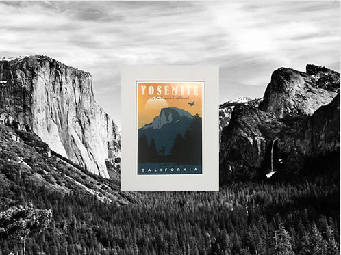 Yosemite The Great Valley Print
