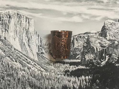 Yosemite Valley Copper Shot Glass