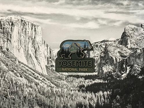 Yosemite Bear Acrylic 2D Magnet