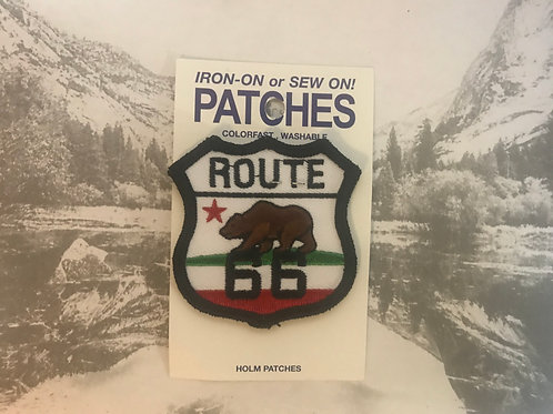 Route 66 CA Bear Patch