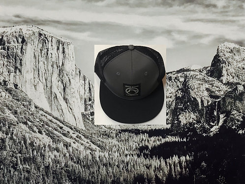 Yosemite Half Dome Black Baseball Cap