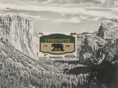 Yosemite Est. 1890 Mini Sticker