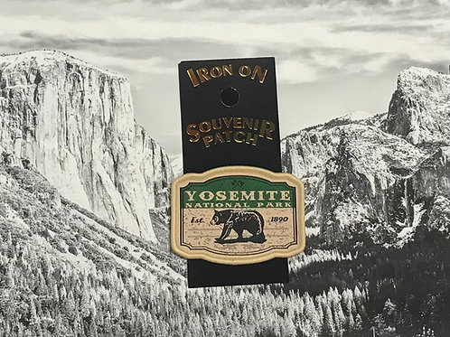 Yosemite 1890 Patch