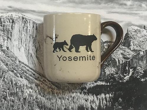 Yosemite Mug Mug with 2 Bears