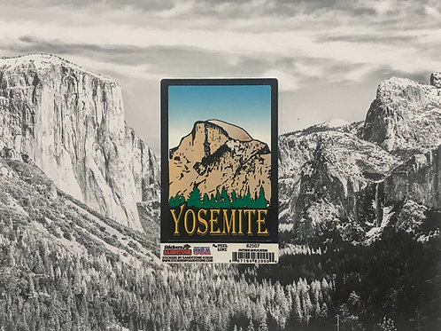 Yosemite Half Dome Small Sticker