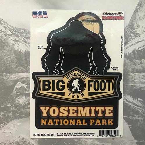 BigFoot Research Team Yosemite Sticker