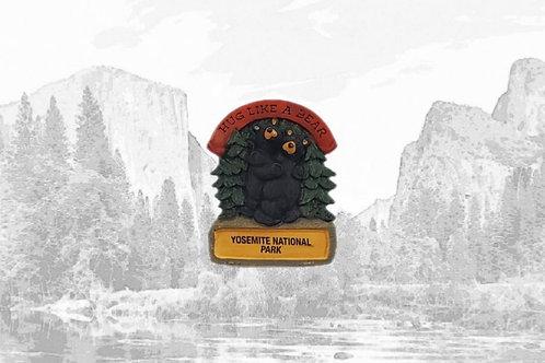 Bearfoots Bear Hug Magnet