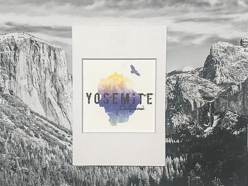 Yosemite Blue Mini Photo Print
