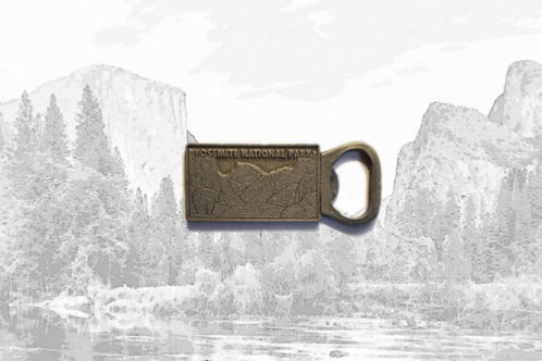 Yosemite Bottle Opener Magnet
