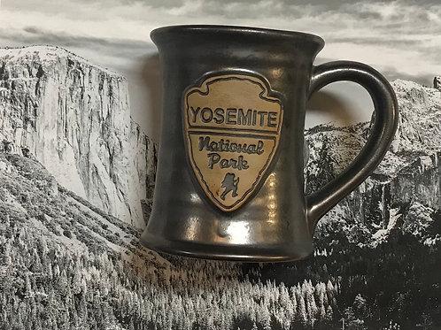 Yosemite Grey large Ceramic Mug