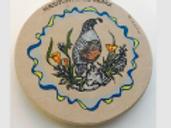 Mariposa, Ca Quail Stand Stone Coaster