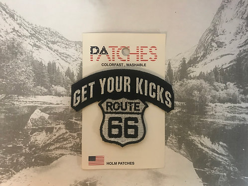 Get Your Kicks Route 66 Patch