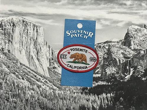 Yosemite California Bear Patch