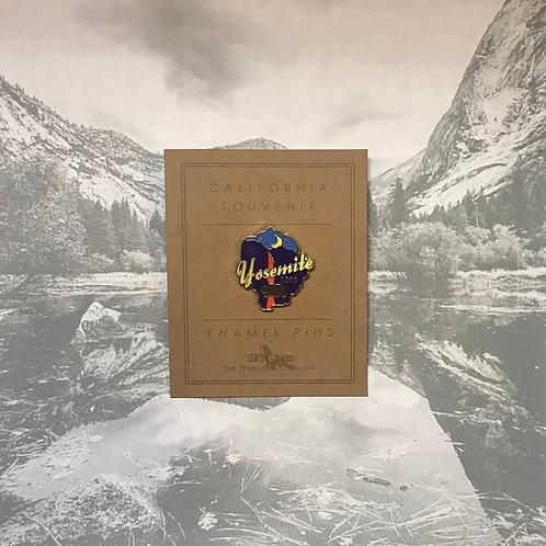 Yosemite Falls Lapel Pin