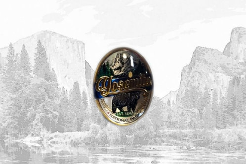 Foil Dome Yosemite Magnet