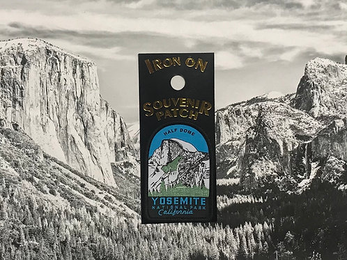 Yosemite Half Dome Patch