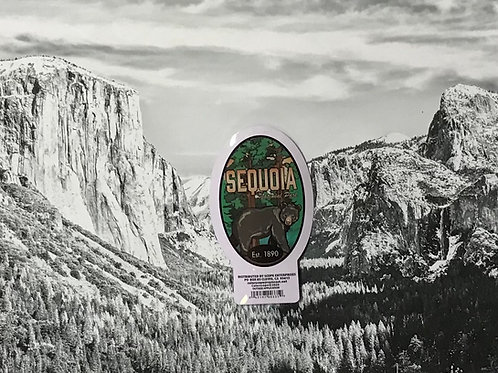 Sequoia Bear Small Sticker