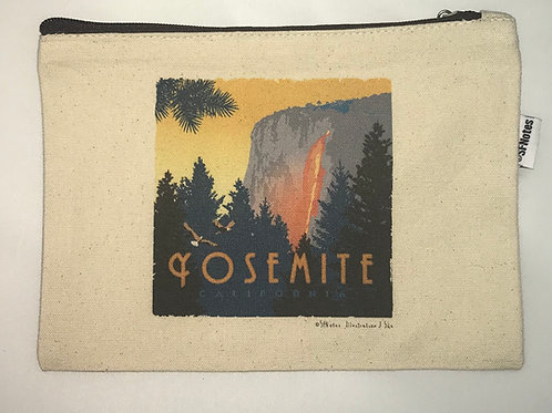 Yosemite Horse Tail Falls Pouch