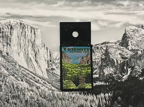Yosemite Valley View Patch