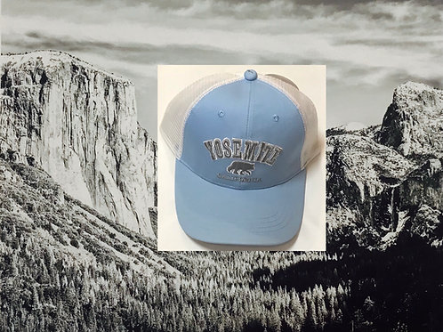 Yosemite Baby Blue Baseball Cap